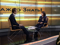 О том, как взаимодействуют спасатели с добровольными общественными организациями в программе «Важно знать!» на ТРК «Первый крымский» - «МЧС»
