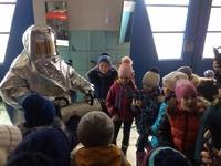 Крымские школьники посетили пожарную часть в г. Симферополь - «МЧС»