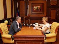 Рабочая встреча с Главой Республики Крым - «Правам человека»