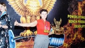 Керчанка выполнила норматив мастера спорта - «Керчь»