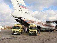 Спецборт МЧС России совершает санитарно-авиационную эвакуацию из Крыма в Москву и Санкт-Петербург пятерых тяжелобольных пациентов  - «Происшествия»