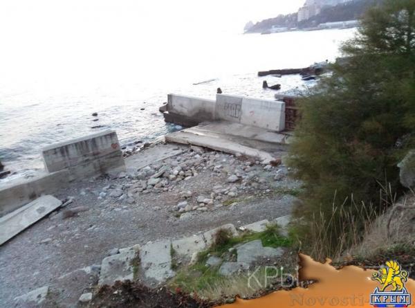 Проект берегоукрепительных сооружений в Симеизе повторно пойдет на экспертизу из-за названия - «Туризм Крыма»