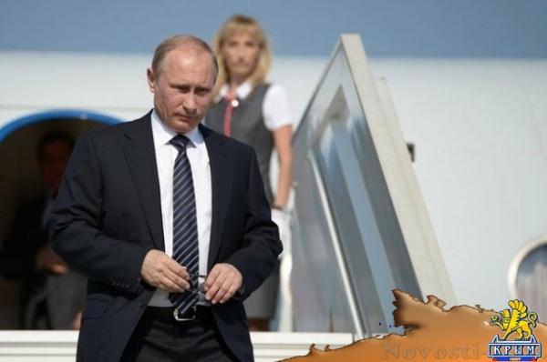 СМИ: Владимир Путин 18 ноября посетит Крым