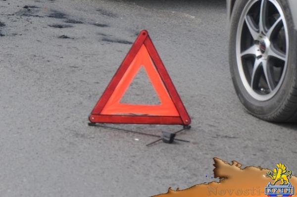 В Крыму случилось ДТП: пострадали двое