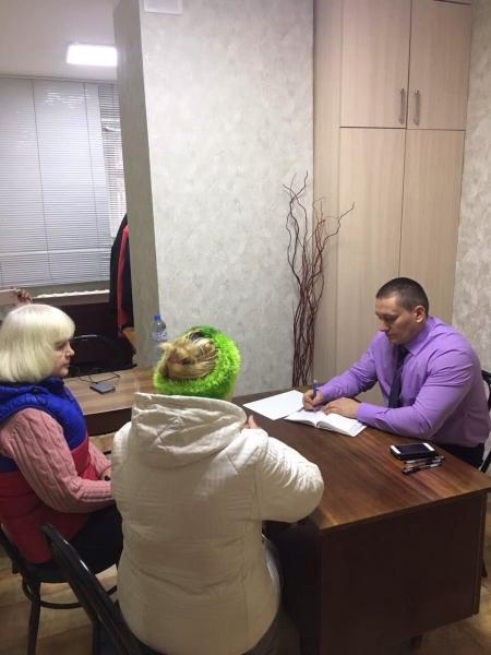 Вадим Белик провел личный прием граждан в г. Симферополе - «Министерство топлива и энергетики»