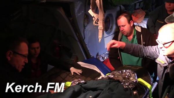Малышей, пострадавших в аварии в Керчи, доставили в Симферополь  - «Видео новости - Крыма»