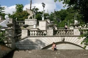 Началась реставрация Митридатской лестницы в Керчи - «Керчь»