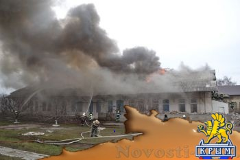 В Одессе сожгли здание охраны железнодорожной станции - «Происшедствия Крыма»