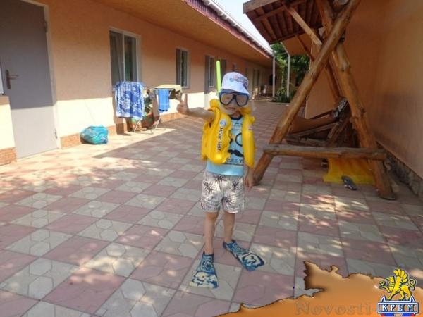 Отдых в Евпатории. Пансионат «FIDEL» -доступный отдых для всей семьи!!! Отдых в Крыму 2017 - жильё в Крыму без посредников - «Отдых в Евпатории»