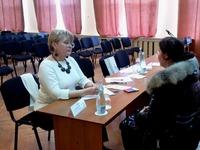 Людмила Лубина посетила с рабочей поездкой Раздольненский район - «Правам человека»