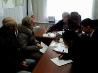 Людмила Лубина провела очередной выездной прием граждан - «Правам человека»