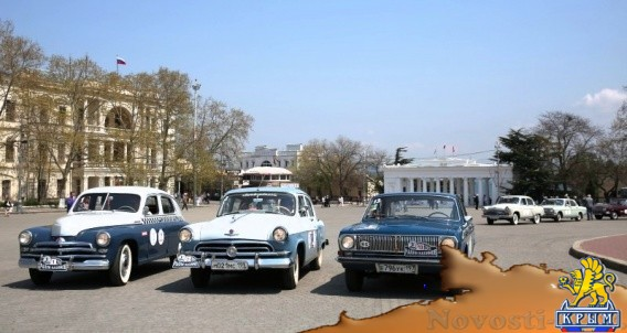 Неделю по дорогам Крыма будут гонять на старых советских автомобилях