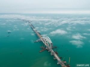 Содержанием Крымского моста займется компания из санкционного списка США - «Керчь»