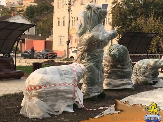 Сквер на Пожарова откроют в начале ноября - «Жизнь»