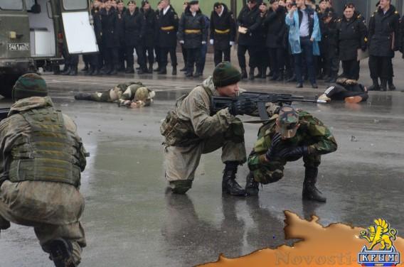 На Черноморском флоте отметили День морской пехоты - «Армия и флот»