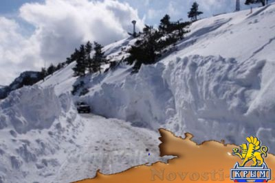 Небо помогло. Снегопады, засыпавшие Крым, полностью восполнят дефицит воды на полуострове - «Экономика Крыма»