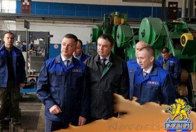 У республики есть будущее: Пасечника восхитил завод «Маршал» - «Экономика Крыма»