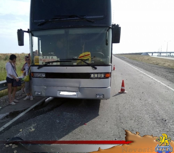 В Феодосии столкнулись иномарка и пассажирский автобус - «Новости Феодосии»