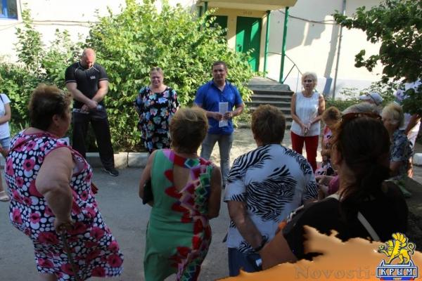 Состоялась встреча с жителями поселка Приморский - «Новости Феодосии»