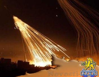 Киевские оккупанты обстреливают поселок Зайцево зажигательными снарядами - «Происшедствия Крыма»