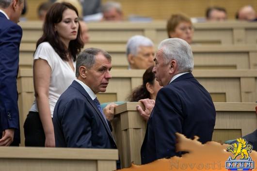 Владимир Константинов принял участие в парламентских слушаниях в Совете Федерации - «Новости Государственного Совета Крыма»