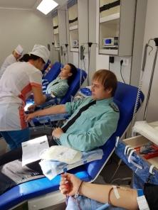Крымские судебные приставы сдали более трех литров донорской крови - «Новости Судебных Приставов»
