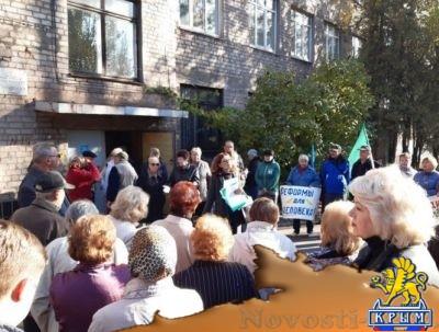 Жители оккупированного Мариуполя вышли на митинг протеста против закрытия больницы - «Общество Крыма»
