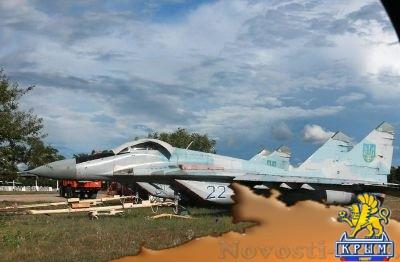 МиГи из Украины улетают по частям: в Одессе разворован склад военной авиации - «Происшедствия Крыма»